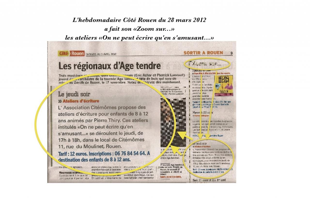 Côté Rouen 28 mars 2012