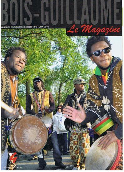 Couverture Bois-Guillaume magazine juin 2010
