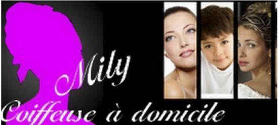 Bannière de Mily coiffeuse à domicile