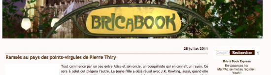 """Bric a Book a lu """"Ramsès au pays des points-virgules"""""""