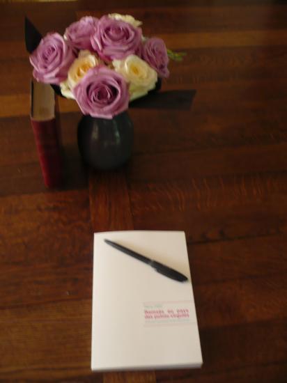 Un bouquet et un «Ramsès au pays des points-virgules»