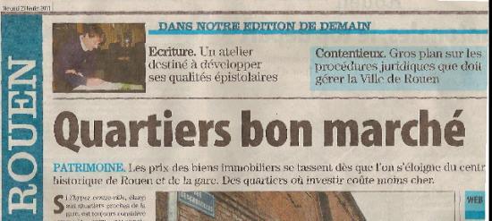 Paris Normandie 23 février 2011