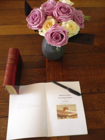 Ramsès au pays des points-virgules et des roses