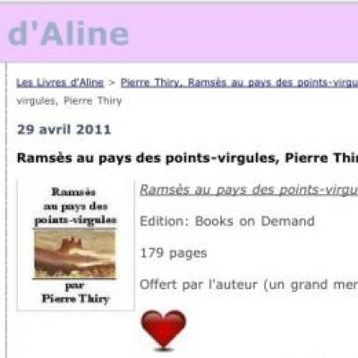 Coup de coeur d'Aline