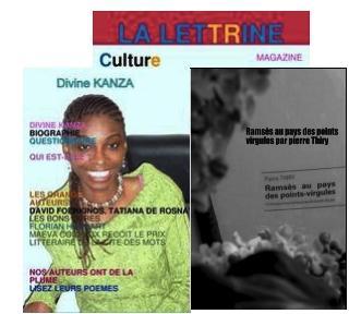 Lettrine Culture de Divine Kanza parle de «Ramsès au pays des points-virgules»