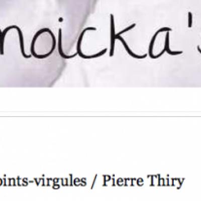 Temoicka's Blog a lu «Ramsès au pays des points-virgules»