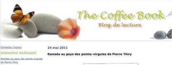 The Coffee Book vous recommande «Ramsès au pays des points-virgules»