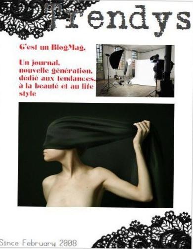 Trendys, webzine de la génération blogmode