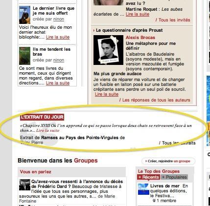 Citation du jour sur Viabooks 22 juillet 2011