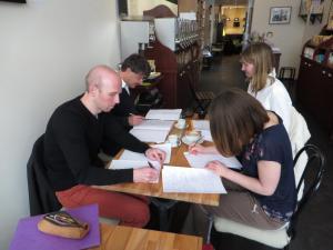 Ateliers d'écriture Evasions d'écriture Café Librairie Ici & ailleurs (Rouen)