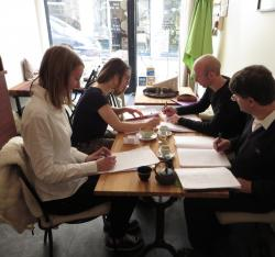 Ateliers decriture ici ailleurs animés par Pierre Thiry
