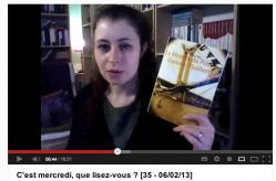Meli de Bazar de la littérature a chroniqué Le Mystère du pont Gustave-Flaubert en vidéo et vous le recommande