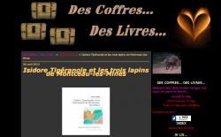 Des-coffres-des-livres a lu Isidore Tiperanole et les trois lapins de Montceau-les-Mines