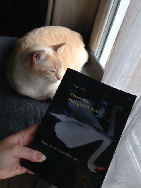 Un chat qui savait lire a lu SANSONNETS UN CYGNE À L'ENVERS et vous le recommande cliquez ici