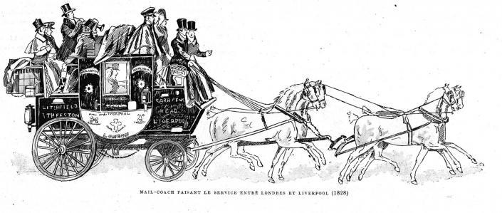 Mail Coach (Le Gaulois 13 Juin 1896)