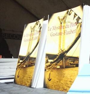 La Rubrique d'Olivia a lu Le Mystère du pont Gustave-Flaubert et vous invite à le lire CLIQUEZ ICI