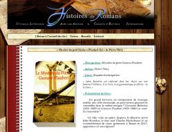 Histoires de romans vous invite à lire Le Mystere du pont Gustave-Flaubert