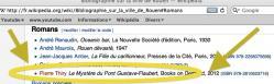 Le Mystère du pont Gustave-Flaubert dans la bibliographie sur Rouen de Wikipedia