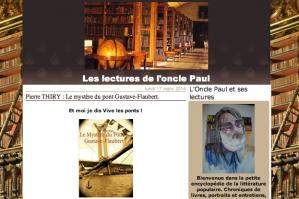 Lectures de l oncle paul a lu le mystere du pont gsutave flaubert