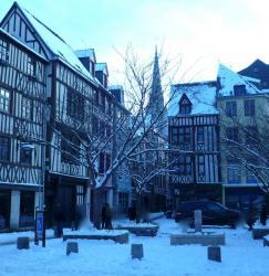 Neige rue Damiette...