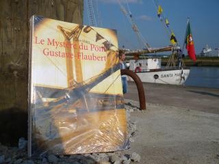 38e critique sur Babelio pour LE MYSTÈRE DU PONT GUSTAVE-FLAUBERT cliquez ici