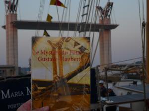 Viou et ses drôles de livres vous invite à lire LE MYSTÈRE DU PONT GUSTAVE-FLAUBERT