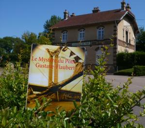 Ma Cabane à livres vous invite à lire LE MYSTÈRE DU PONT GUSTAVE-FLAUBERT