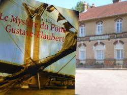 Le Mystère du pont Gustave-Flaubert n'est pas disponible dans tous les kiosques de gare mais vous pouvez le commander dans toutes les bonnes librairies.