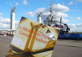 Le Bal des livres fous à lu Le Mystère du pont Gustave-Flaubert et vous le recommande à l'approche du Salon du Livre de Paris