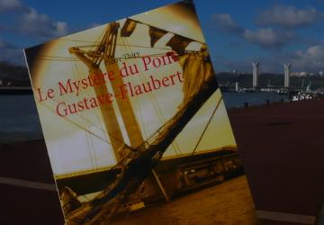 Chroniques d'un chat de bibliothèque a lu Le Mystère du pont Gustave-Flaubert