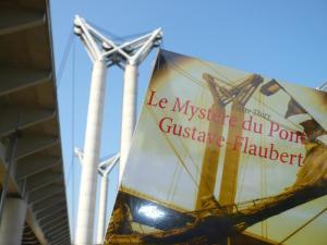 Un chocolat dans mon roman vous invite à lire Le Mystère du pont Gustave-Flaubert
