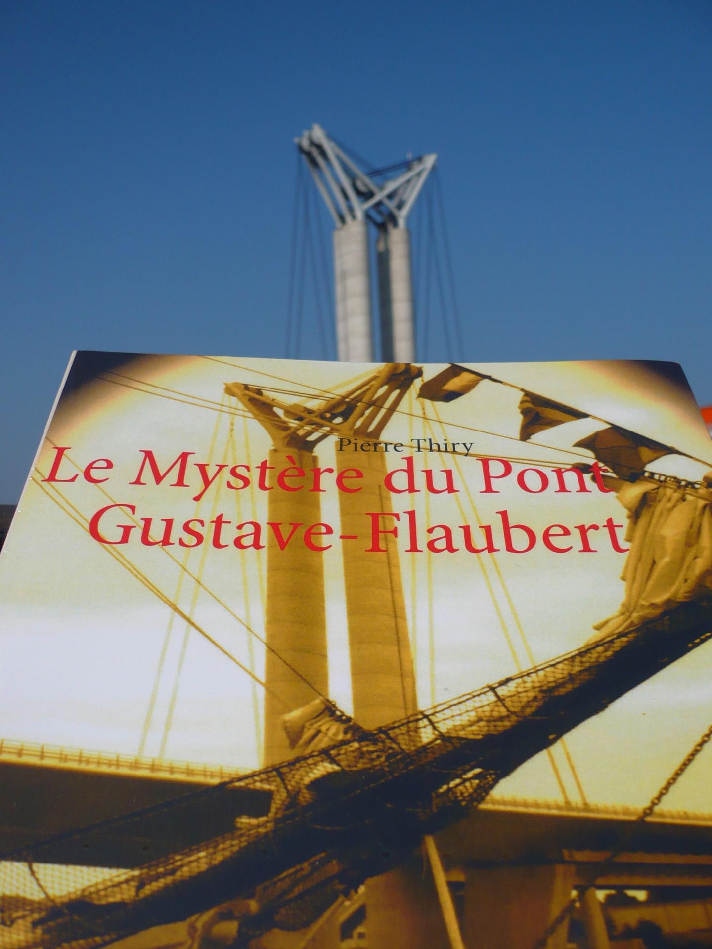 Le Mystère du pont Gustave-Flaubert recommandé par le blog de Pyrouette