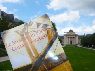 Le Sang des livres vous invite à lire Le Mystère du pont Gustave-Flaubert