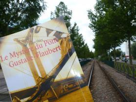 Lassé des grèves de chemin de fer? Evadez-vous en lisant Le Mystère du pont Gustave-Flaubert