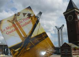 Signature du Mystère du pont Gustave-Flaubert 25 Octobre librairie Colbert
