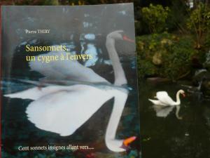 Ma Cabane à livres vous invite à lire SANSONNETS UN CYGNE À L'ENVERS cliquez ici