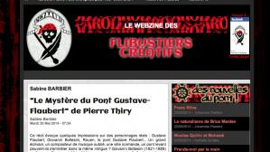 Paroles d artistes vous invite à lire Le Mystère du pont Gustave-Flaubert