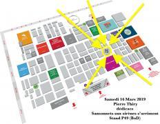 Dédicace pierre thiry 16 mars Livre Paris