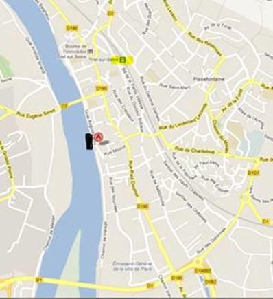 Cliquez sur le plan pour l'ouvrir dans Google-Maps