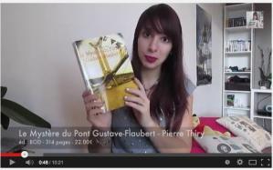 Tartinneauxpommes annonce sa lecture du MYSTÈRE DU PONT GUSTAVE-FLAUBERT