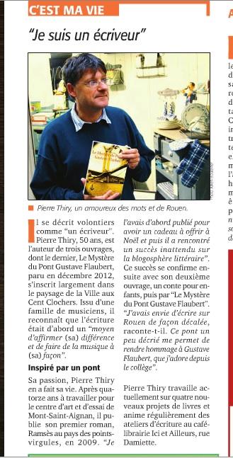 Revue de presse pierre thiry - Tendance des journaux ...