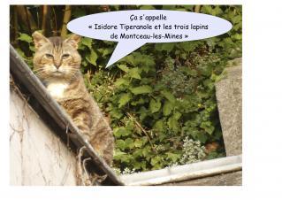 Isidore Tiperanole et les trois lapins de Montceau-les-Mines en tête de livres les plus consulté sur LivreAnnonce.fr cliquez ici
